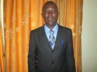 Abel Welwean, NFA's Program Officer in Monrovia